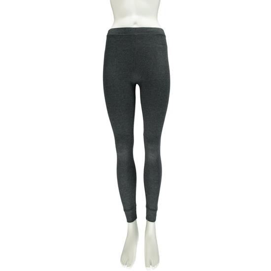 Antraciet grijs dames thermolegging ondergoed