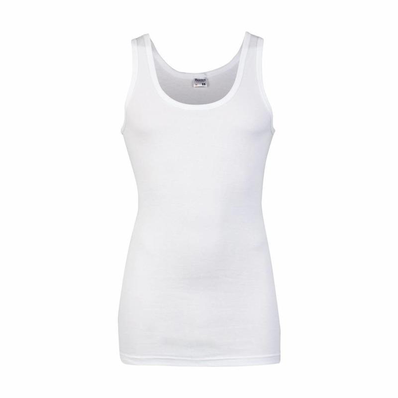Grote maten ondergoed beeren heren hemd wit